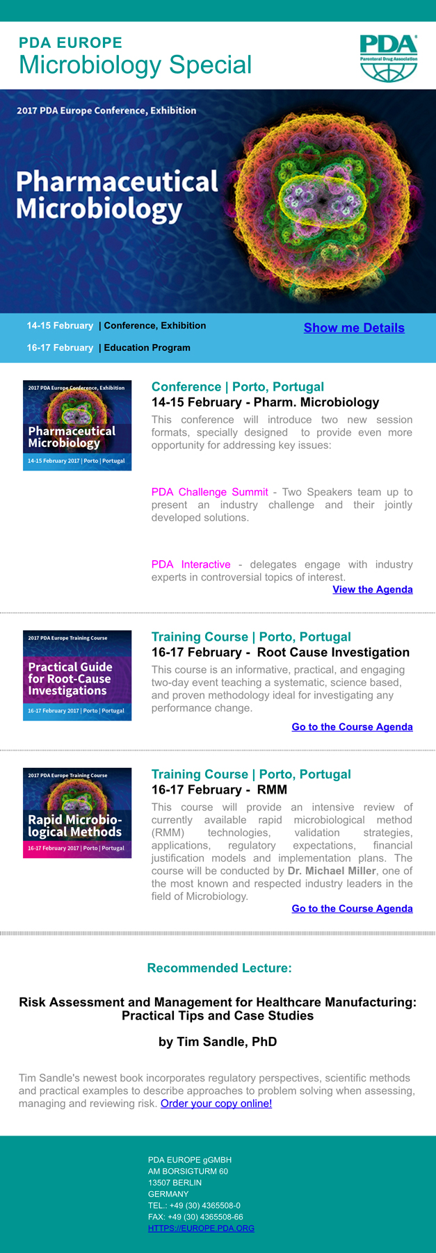 PDA-Europe---Pharmaceutical-Microbiology-Conference-Special-Newsletter